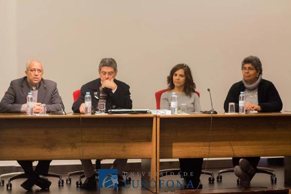 Mesa da Sessão de Abertura